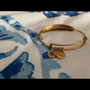 Alex & Ani Feather Bracelet